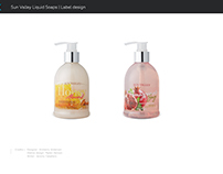 Liquid Soap Label Design