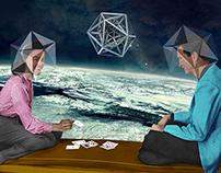 Icosahedrons trio