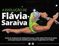 A evolução de Flávia Saraiva