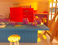 Art Studio- 3D Modeling Project