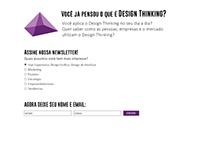 Layout de página de contato do Blog da Prisma