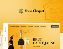 Redesign  Veuve Clicquot