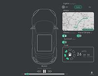 30 Days 30 Mins UX/UI - Day 7 - In Car Dash