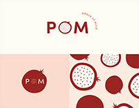 POM Artist Collective Identity