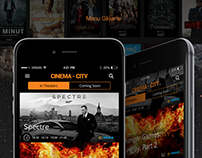 CINEMA CITY POLAND. Concept App Redesign