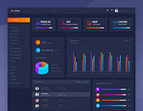 Adex - Material Design Admin Dashboard PSD Template