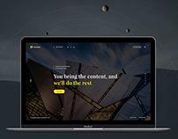 Scandia Landing Page
