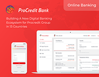 Digital Banking Ecosystem | UX/UI, Product Design