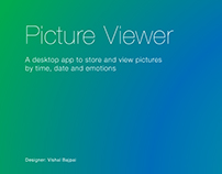 Picture Viewer App for Desktop