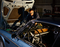 Passion project. BMW e9, San Francisco.