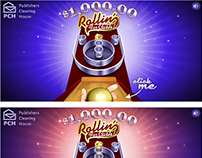 Instant Win Games-Rollin' For Cash