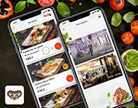 Мобильное приложение для ресторанов Абажур и Духанъ