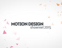 Motion Design Reel 2015