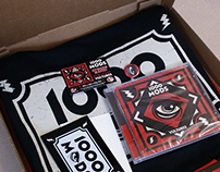 1000mods' Vultures pizza box