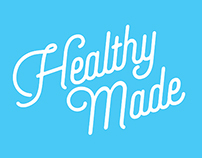 Healthy Made - process book