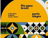 Cartazes para Fito Paez no Brasil