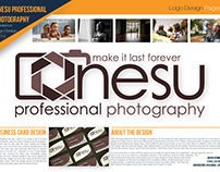 Anesu Photography 2014 Logo Design
