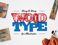 Drag & Drop WoodType