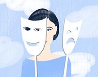 Summer illustration for organicwoman.ru