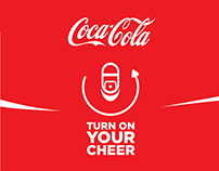 Coca-Cola Football Turn on your Cheer