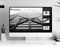 Web Design - Architizer (UI/UX)