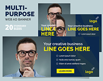Multipurpose Web Ad Banner