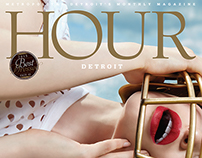 Hour Detroit covers