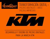 · Piezas KTM ·
