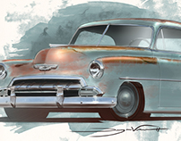 52 Chevy Built by Icon