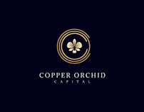 Copper Orchid Capital logo design