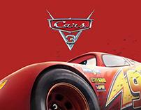 Cars 3 Website Concept