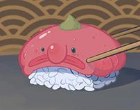 Blobfish Nigiri
