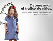 ECPAT Contra el tráfico de infantes