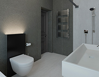 LAMINAM I Design of existing bathroom