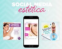Social Media - Estética e Beleza