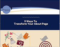 Info-graphic: 5 Ways To Transform Your About Page