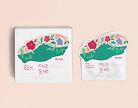 CIRACLE From jeju mask Packaging