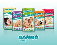 Bambo Baby Bebek Bezi Ambalaj Tasarımı
