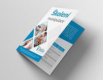 Bifold brochure design DelphSys