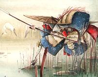 Crane Samurai