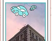 Snapchat Geo Filter for Hiya Car