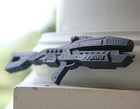 Avenger Recreation - Final 3D Print