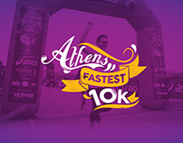 Branding 10k Athens Health Run