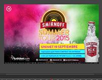 Banner Animado / Smirnoff