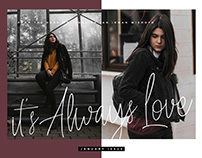 Always Love - Handwritten Font