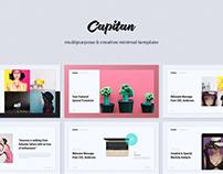 Capitan Creative & Minimal Template