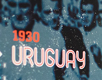 1930 Uruguay World Cup Exhibition Wall