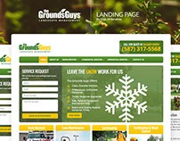 The GroundsGuys Landing Page