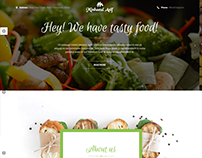 Restaurant Website By Minhazul Asif