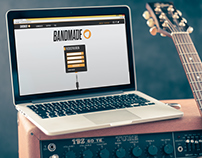 Bandmate - Webapplikation
